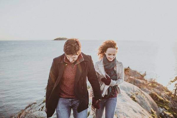 Maia + Daniel // Vancouver Whytecliff Park Engagement