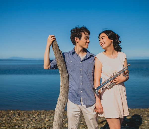 Esther + Sky // Tsawwassen Engagement Photography