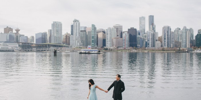Stanley Park Engagement // May + Andy