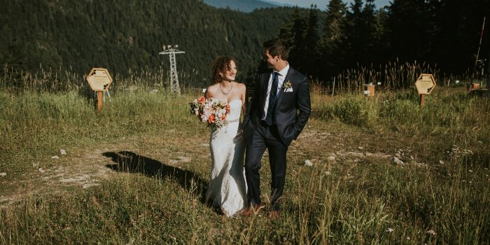 Grouse Mountain wedding // Maia + Daniel