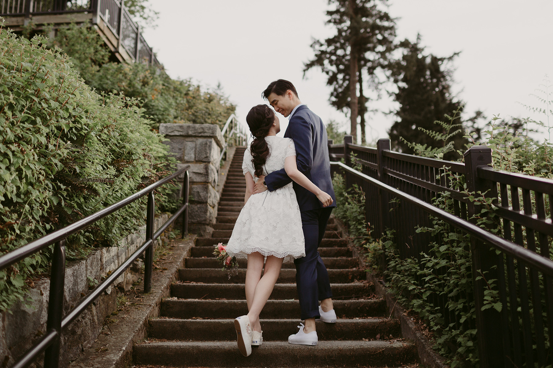 stanley park engagement session