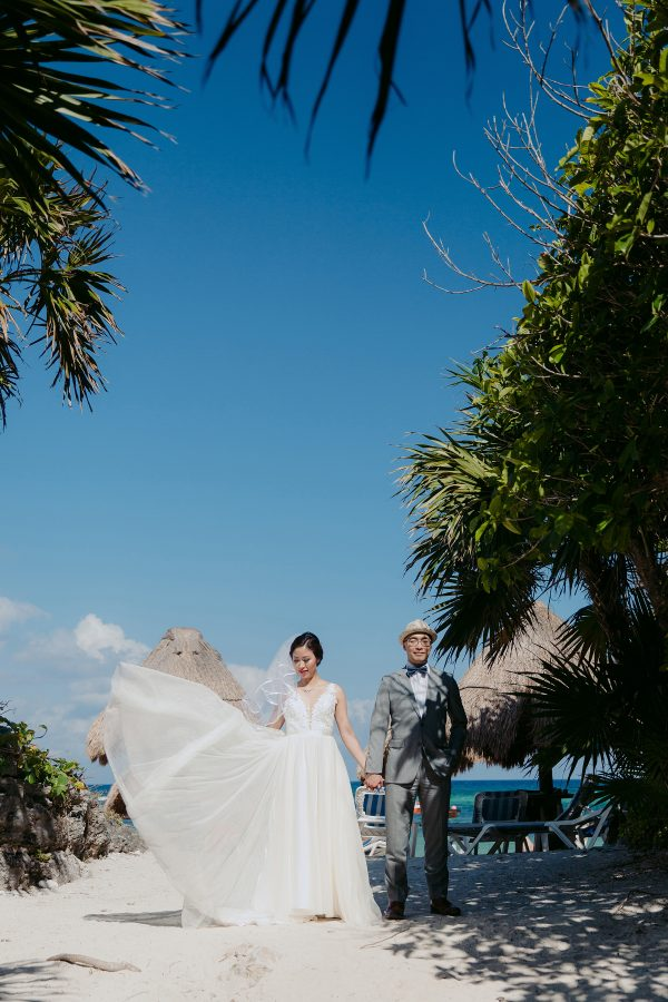 Cancun Wedding // Jihee + Brian